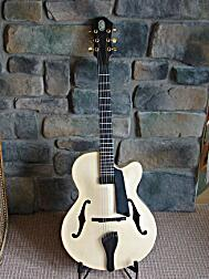 Archtop built with instruction from Dale Unger, front